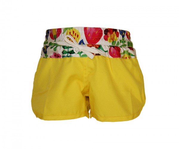 Heavenlee Swimwear - Summer Garden boadshort front