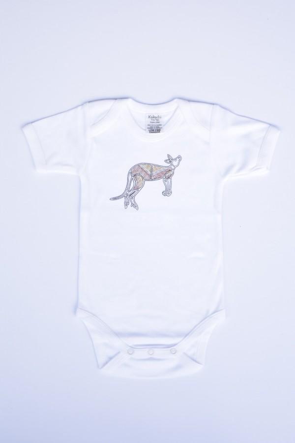 Kakadu Tiny Tots Kunji Jumpsuit White