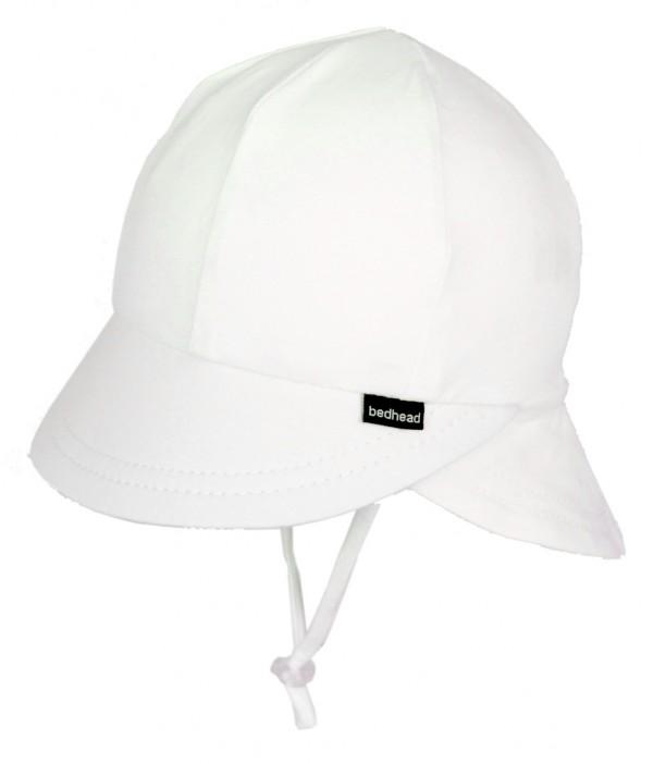 Bedhead Legionnaire Hat - White Kids flat lay