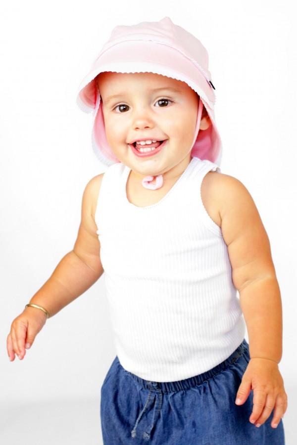 Bedhead Legionnaire Hat - Baby Pink