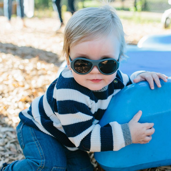 Marine Green original Babiators kids sunglasses