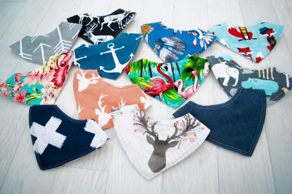 Harry High Pants - Assorted Dribble Bibs