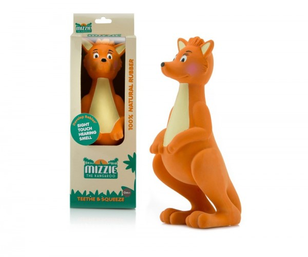 Mizzie Kangaroo Teething Squeeze Toy