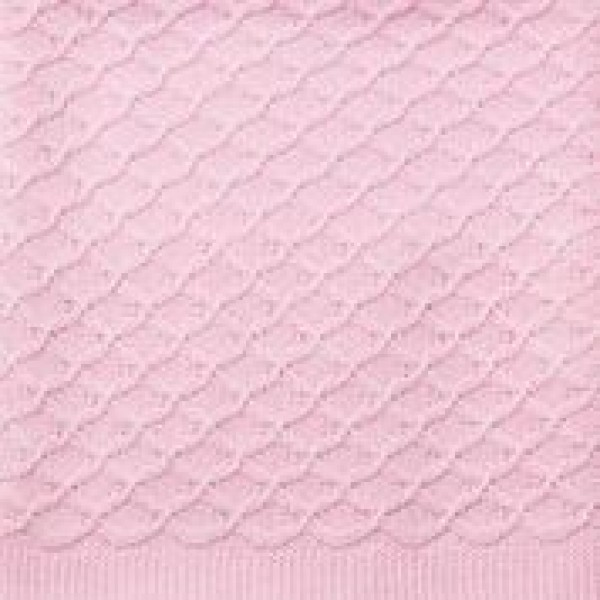 Pink Knitted Blanket Emotion & Kids