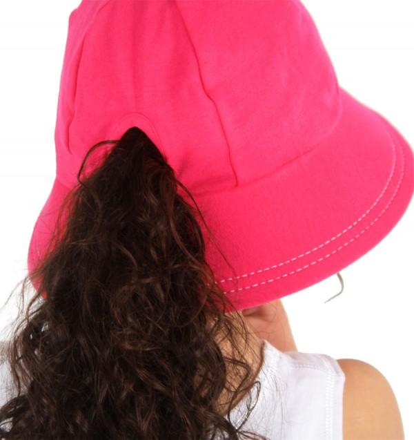 Bedhead Pony Tail Bucket Hat - Back