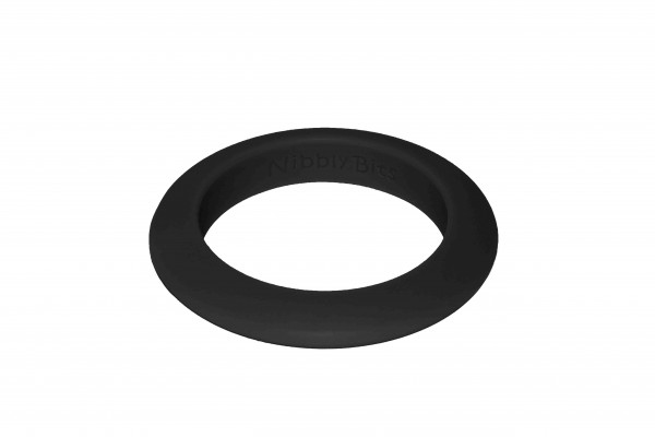 Round Stackable Bangle - Black