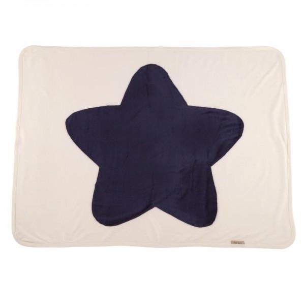 Fourzero Star Blanket Navy