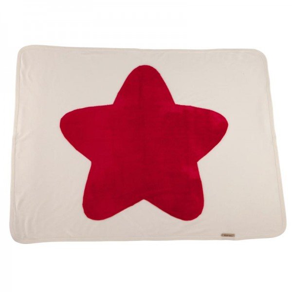 Fourzero Star Blanket Raspberry