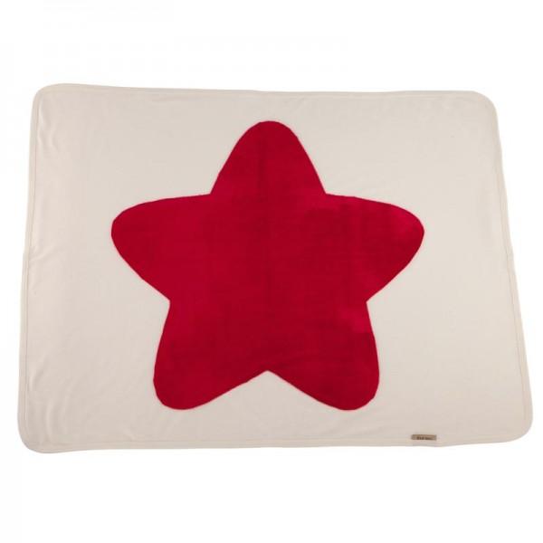Fourzero Star Blanket Raspberry