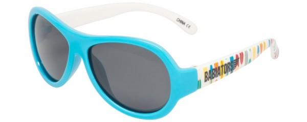 Surfs Up Polarised Babiators kids sunglasses in case