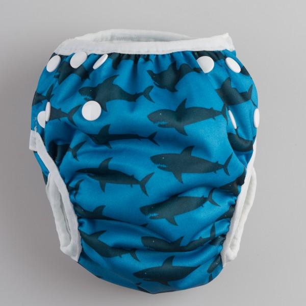 Aqua Swim Nappy - Shark Bait