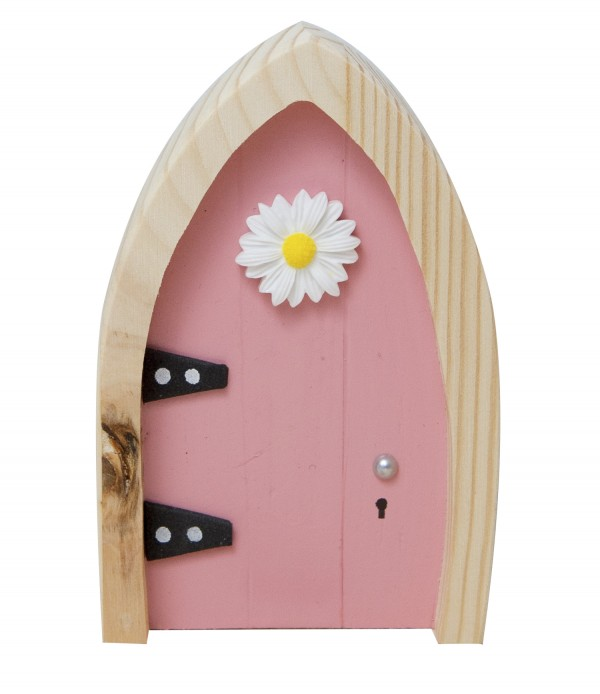 the Irish Fairy Door Company - Pink Arch Fairy Door
