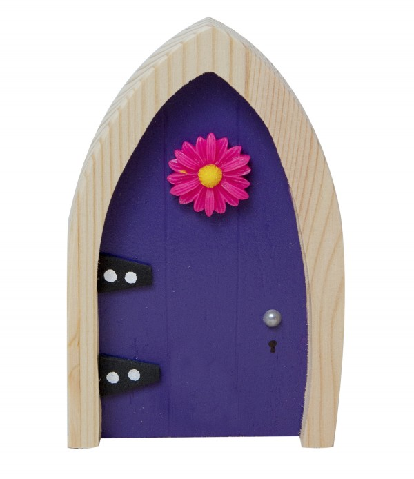 the Irish Fairy Door Company - Purple Arch Fairy Door