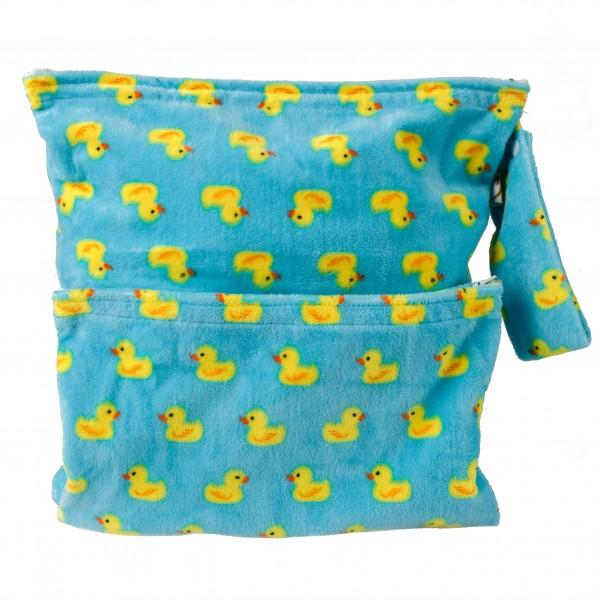 Cushie Tushies Nappy Bag - Fluffy Ducks
