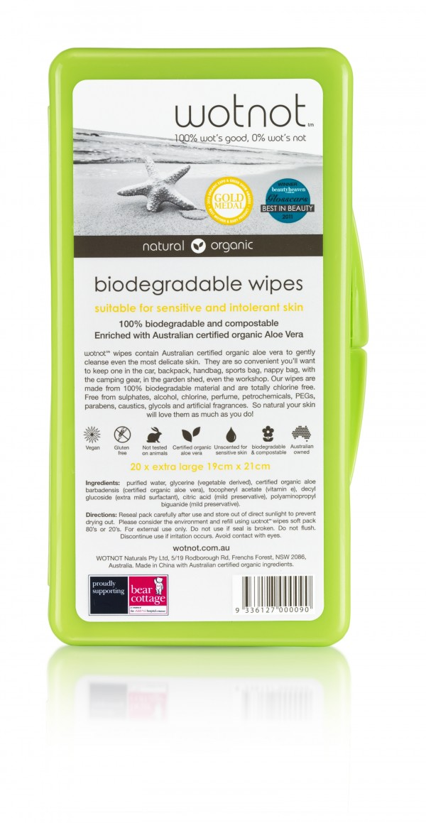 Wotnot Bio Wipes - Travel Case