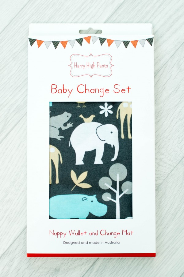 Harry High Pants Baby Change Set - Zoology